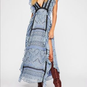 Free People Spellbound Maxi Dress Size L